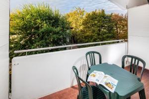 Balkón nebo terasa v ubytování La Pergola Dependance