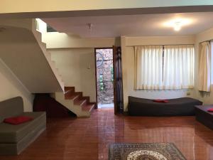Zona de estar de Namaste House