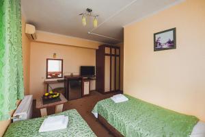 Кровать или кровати в номере IvaMaria