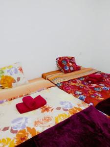 A bed or beds in a room at Апартаменты «Татьяна»