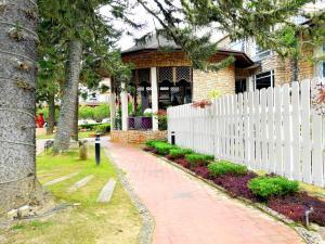 A garden outside Century Pines Resort Cameron Highlands