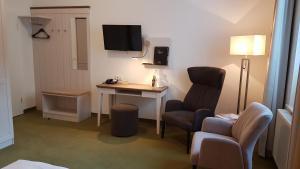 TV/Unterhaltungsangebot in der Unterkunft Ringhotel Villa Margarete