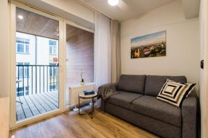 Istumisnurk majutusasutuses Thomas' Home - Trendy, Central & Balcony