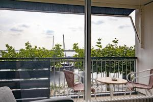 A balcony or terrace at Fletcher Hotel Restaurant Loosdrecht-Amsterdam