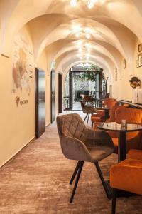 Lounge alebo bar v ubytovaní Apartment I Kovacska, historical centre