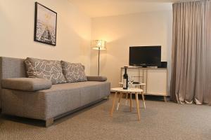 Posezení v ubytování Apartmán 5FIVE