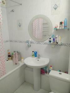 Ванная комната в Apartment Simferopolskaya 22