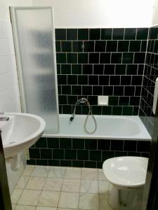 A bathroom at Pension Malá Plan