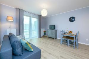 Posezení v ubytování Apartament Praski Sen