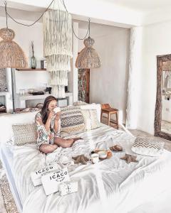 Cama ou camas em um quarto em Icaco Island Village - Adults Only