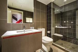 A bathroom at Quest Abbotsford