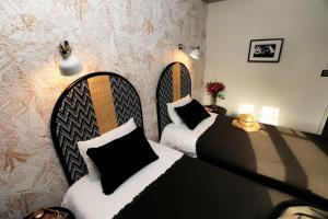 Un ou plusieurs lits dans un hébergement de l'établissement Etche Ona
