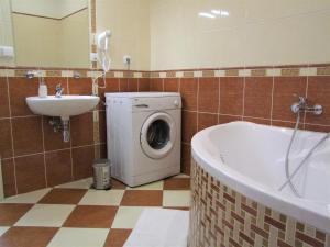 Ein Badezimmer in der Unterkunft Charles Bridge Suites