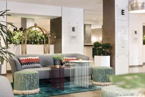 Lobbyn eller receptionsområdet på Elite Grand Hotel Norrköping