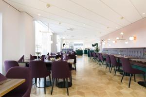 En restaurang eller annat matställe på Elite Grand Hotel Norrköping