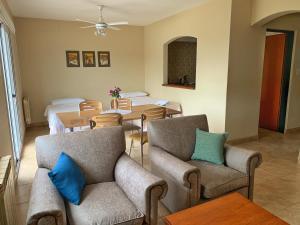 Un lugar para sentarse en Inter Apart Hotel
