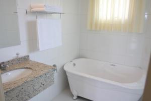 Um banheiro em Di Capri Hotel