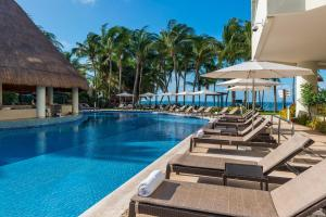 The swimming pool at or near Isla Mujeres Palace - All Inclusive Adults Only