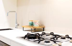 A kitchen or kitchenette at Ali & Hill Accommodation @Trillium