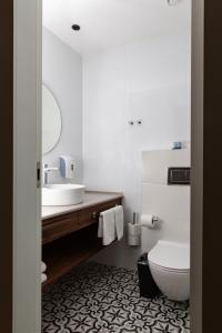 Een badkamer bij Montefiore Hotel By Smart Hotels