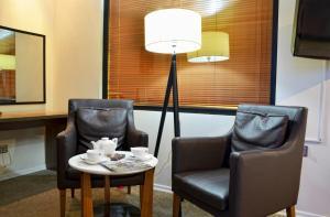 A seating area at Citadel Narikala Hotel