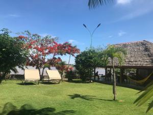 Jardín al aire libre en Hotel Maya de la Amazonia