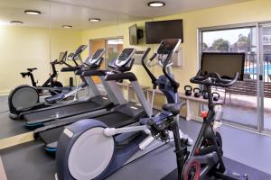 The fitness center and/or fitness facilities at Dana Point Marina Inn