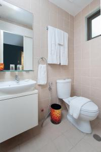 A bathroom at KL Serviced Residences Managed by HII