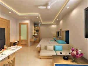 Ванная комната в Sincero Hotel & Apartment