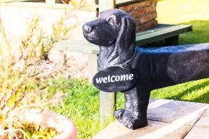 Pet or pets staying with guests at Brecks Cottage Bed and Breakfast