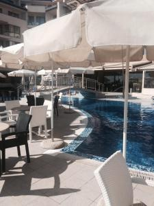 The swimming pool at or near Apartment in Obzor Beach Resort