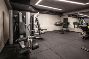 The fitness centre and/or fitness facilities at Ilayda Avantgarde Hotel