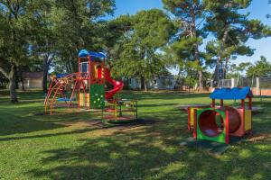 Children's play area at Apartments Materada Residence