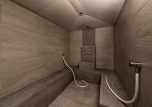 Ein Badezimmer in der Unterkunft Aquatis Hotel 3* Superior