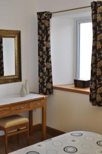 A bathroom at Orkney Villlas