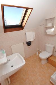 Salle de bains dans l'établissement La Chaumière Savoyarde
