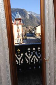 Balcon ou terrasse dans l'établissement La Chaumière Savoyarde