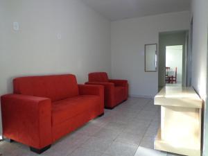 A seating area at Lugar de descanso