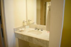 A bathroom at Canto del Sol Puerto Vallarta All Inclusive
