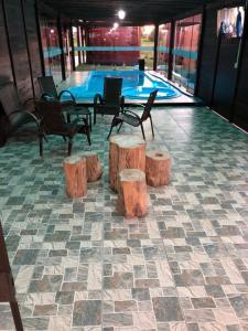 The swimming pool at or close to POUSADA DAS PIPAS