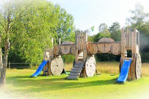 Children's play area at Hagbards By Gårdspensionat