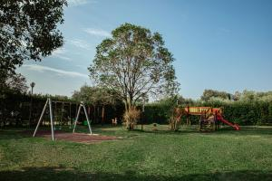 Children's play area at Camping Zocco