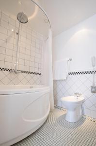 A bathroom at Pädaste Manor