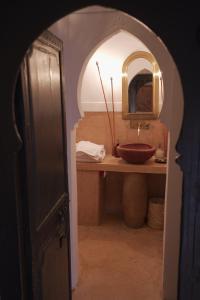 A bathroom at Dar El Qadi