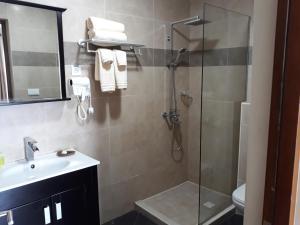 Um banheiro em Acoya Curacao Resort, Villas & Spa
