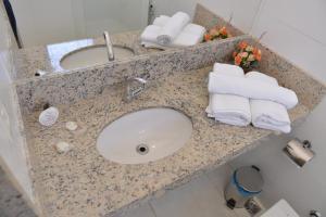 A bathroom at Gran Norte Hotel Salinas