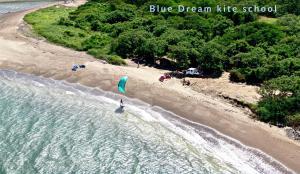 A bird's-eye view of Blue Dream Kite Boarding Resort Costa Rica
