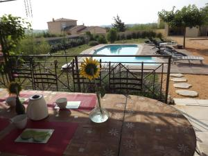 A view of the pool at Bella Casa or nearby
