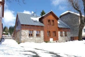 Apartmány Nové Hutě v zimě