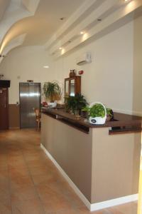 The lobby or reception area at Santa Caterina